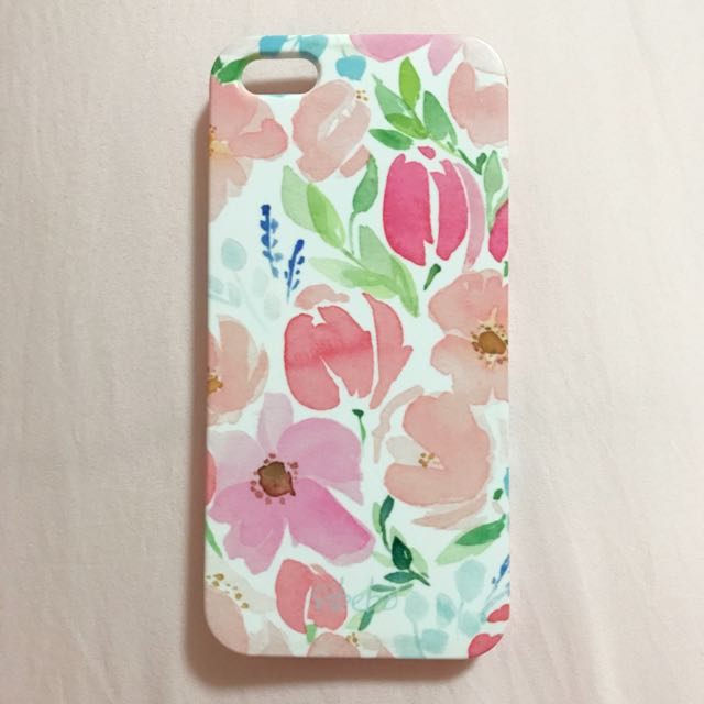 Flowers (Red Garden) Sibebo iPhone 5/5s Hard Case
