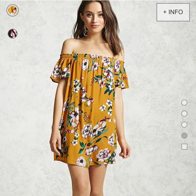 Forever 21 Off Shoulder Dress