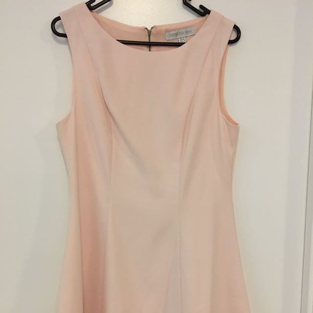 Forever New Powder Pink Knee Length Dress Size 12