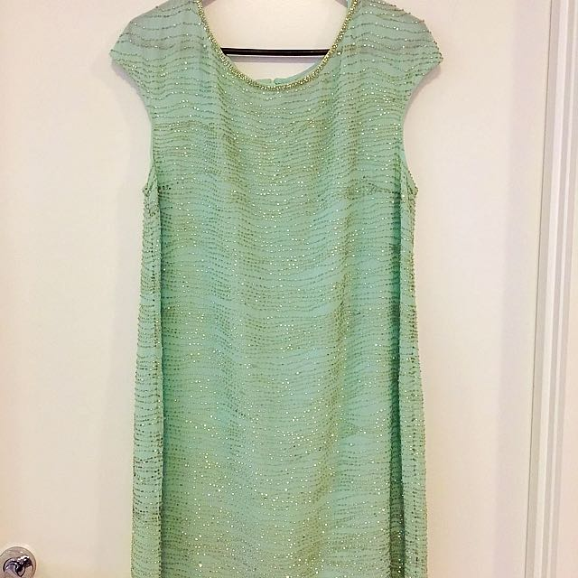 Forever New Sequins Dress Size 12
