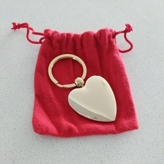 NEW Agent Provocateur Gold Heart Keyring