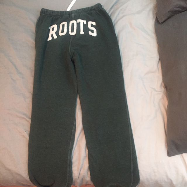 Green Roots Sweatpants