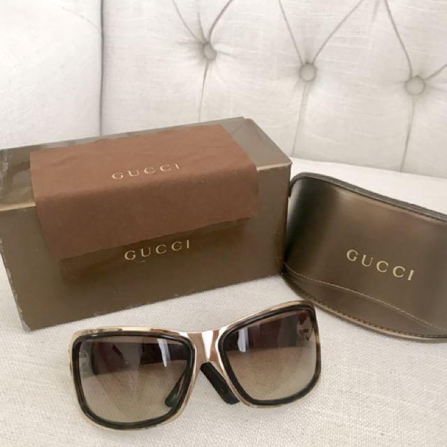 GUCCI GG 2754/s Gold Sunglasses