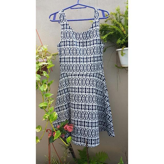 H&M Aztec Print Dress