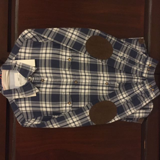 H&M Blue Flannel