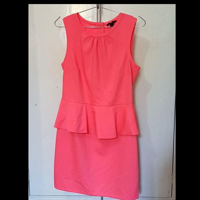 H&M Pe-Plum (Salmon) Dress