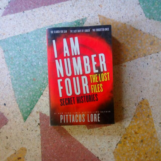 I Am Number Four: The Lost Files secret histories