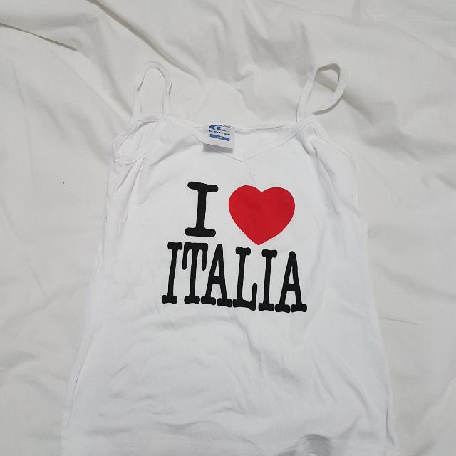 I Love Italia Shirt