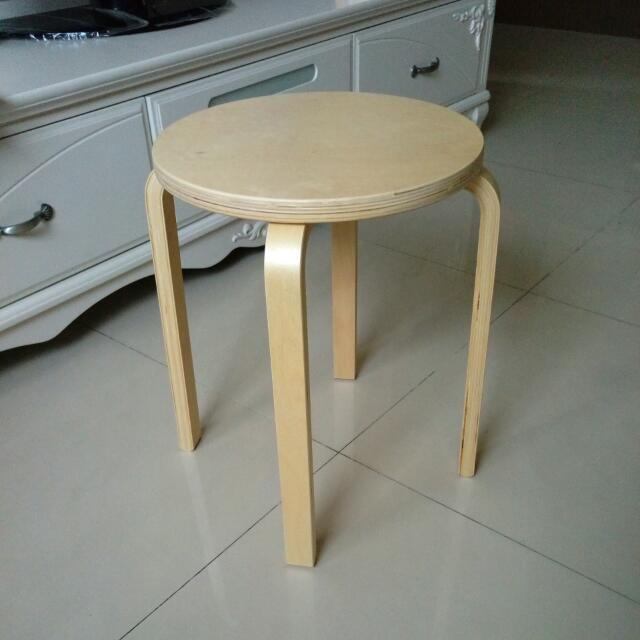 IKEA圓凳椅