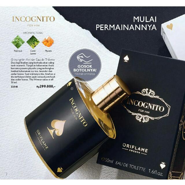 Incognito Parfume
