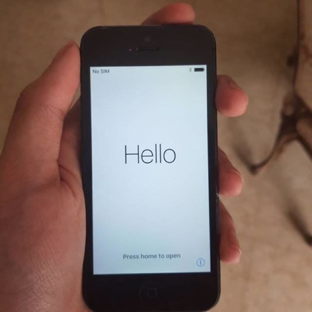 Iphone 5 Second Black 16GB