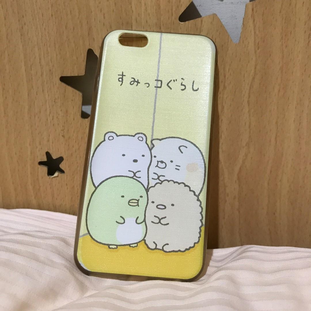 (可換物)iPhone 6/6S 角落生物手機軟殼