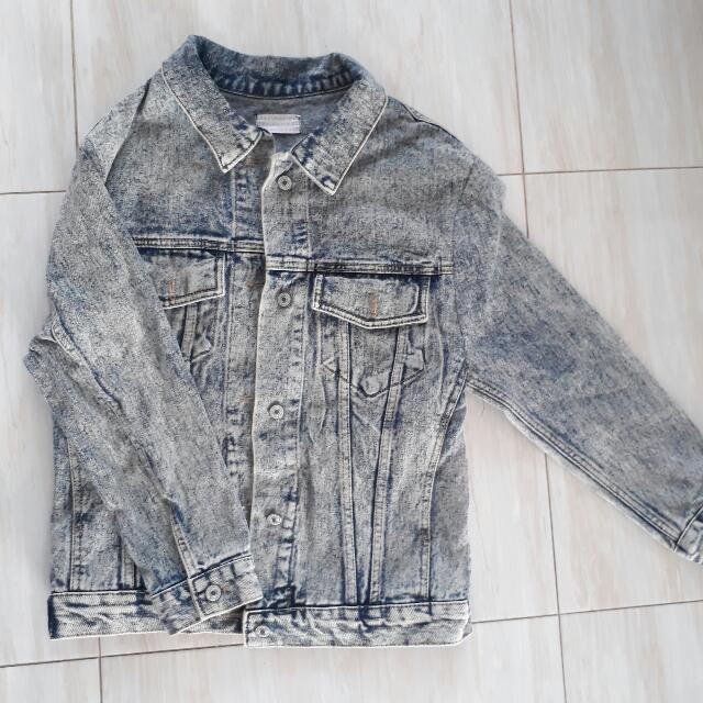 Jacket Washed Jeans