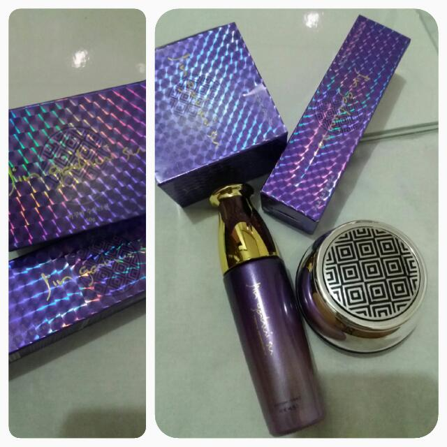 Repriced!!! Jin Gahui Su Purple Whitening Set