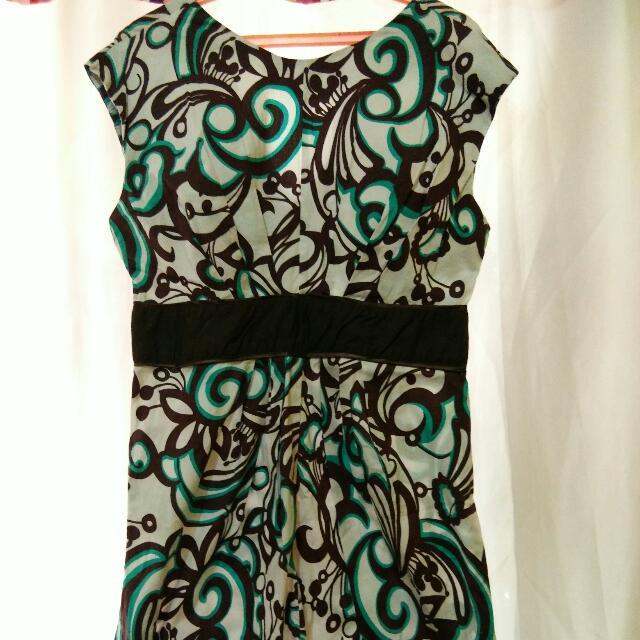 Juana Printed Dress