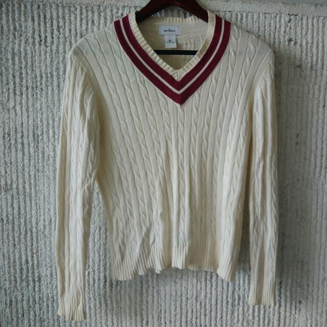 Kamiseta- Cream Knitted Sweater