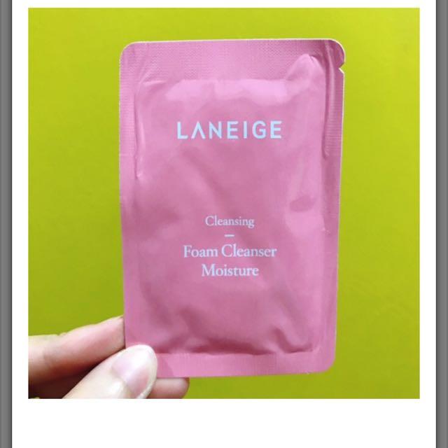 Laneige Foam Cleanser Moisture Sachet