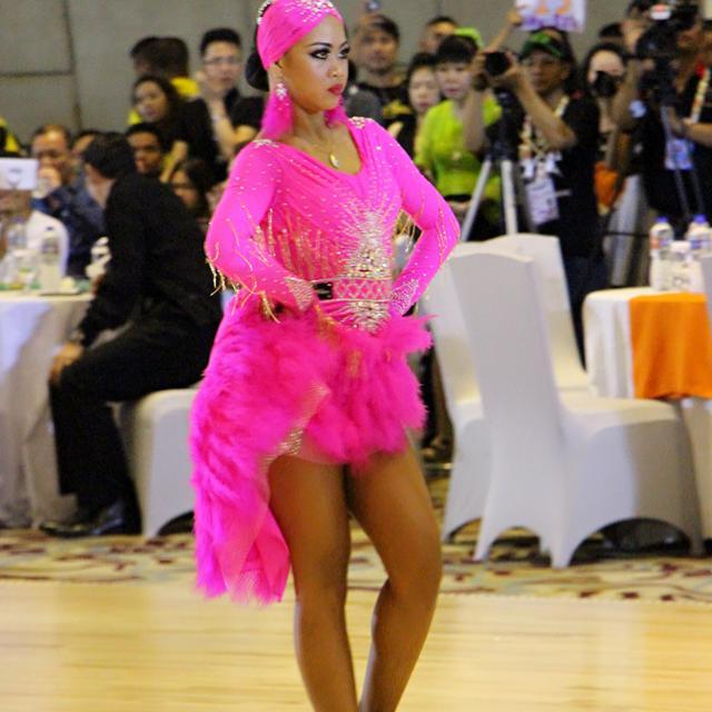 "Latin Costume ""Pink"""