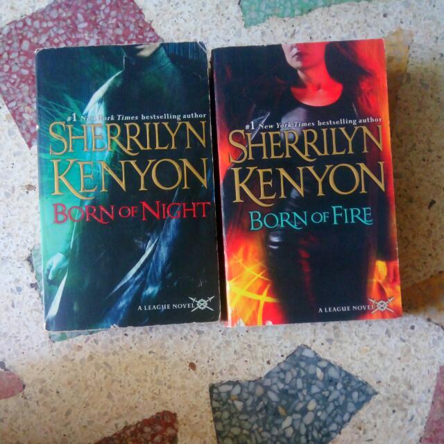 League Novel by Sherrilyn Kenyon Bundle