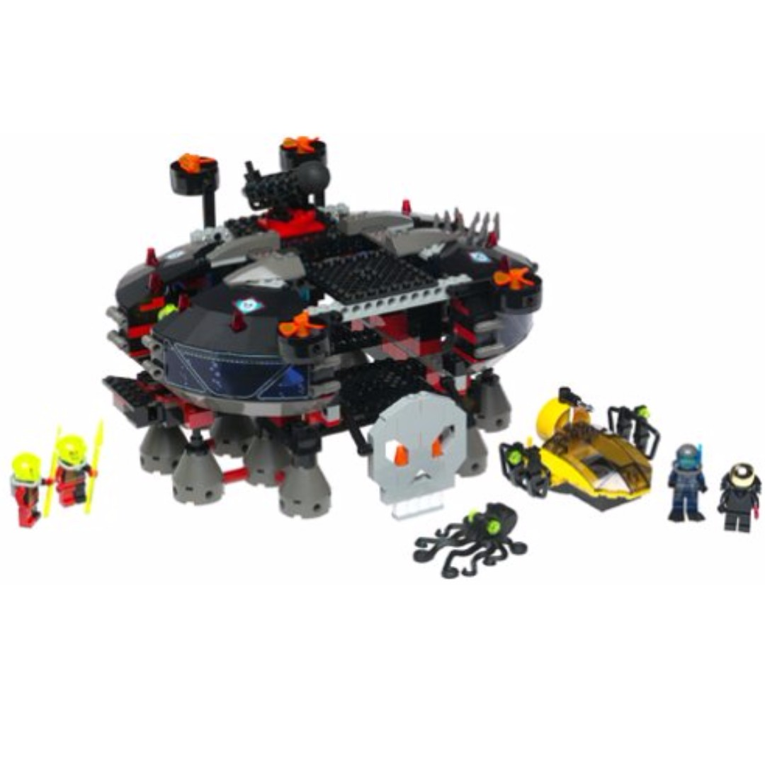 Lego Alpha Team 4795 Ogel Underwater Base And At Sub 2002 468 Pcs