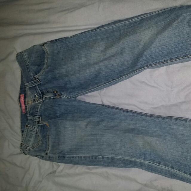 Levis 504 Straight Jeans Size 10-12