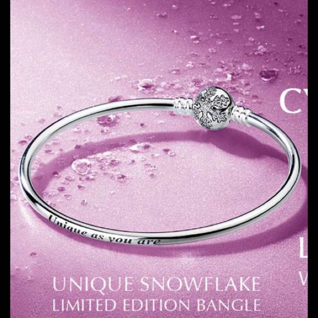 Limited Edition Pandora Snowflake Bangke
