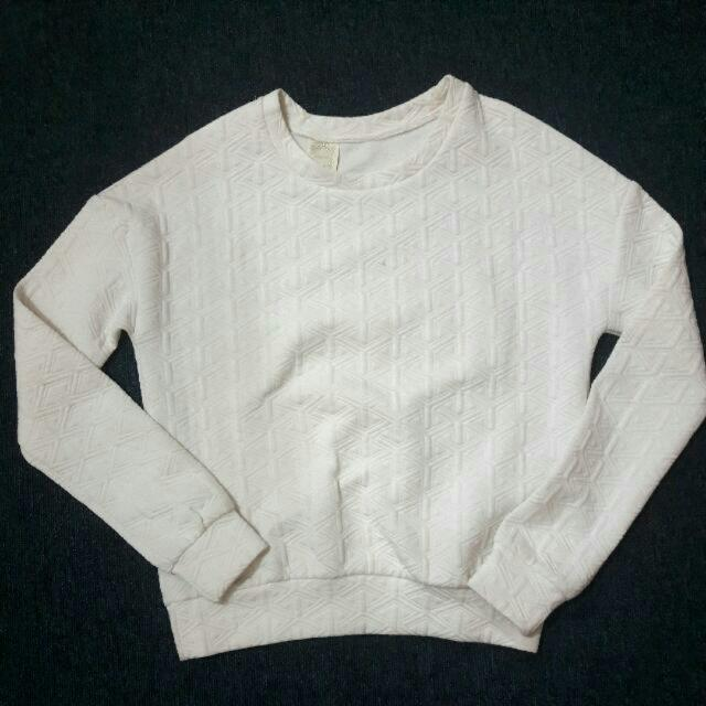 Magnolia White Sweater
