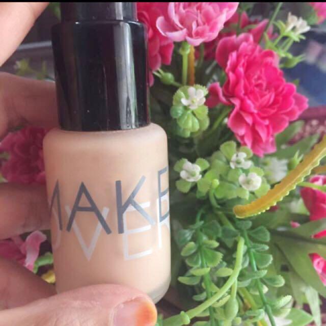 Make Over Foundation Shade 03 Nude Silk