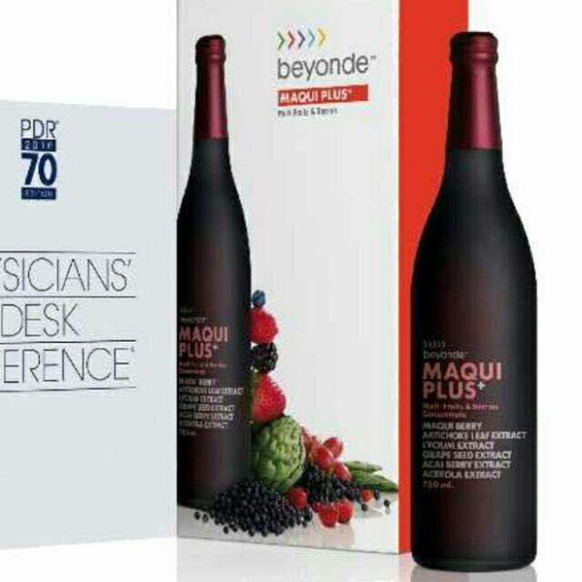 Maqui Plus 2 Bottles Monavie Acai Berry Juice Maqui Berry