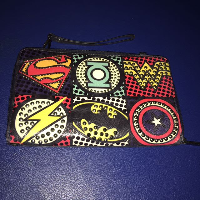 Marvel Navy Clutch