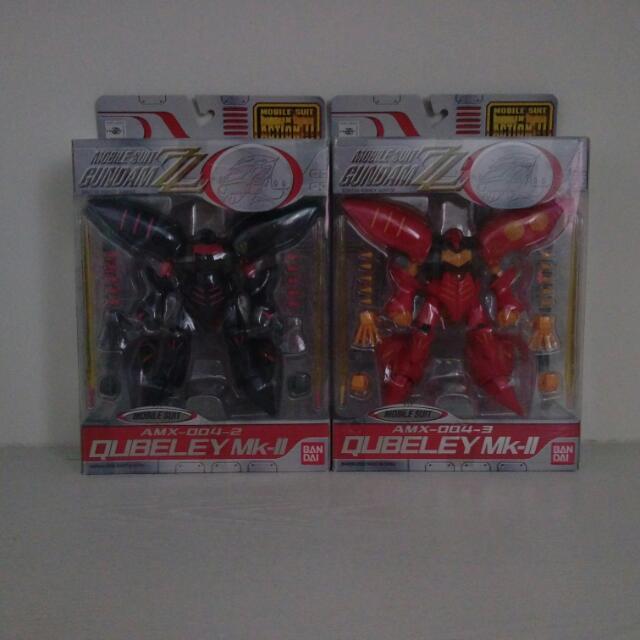 MIA ZZ 鋼彈系列,紅藍丘貝雷,2只一起賣