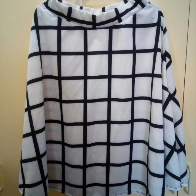 Midi B/W Skirt