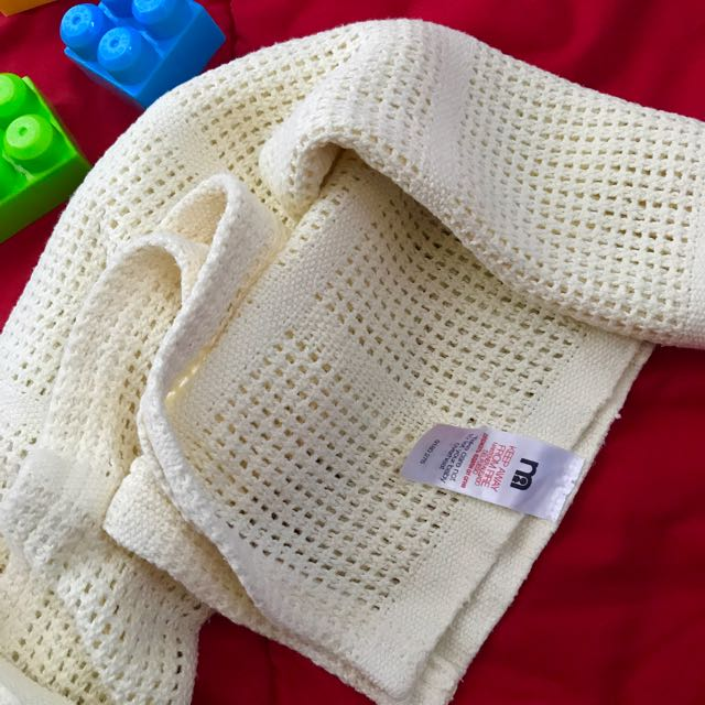 Mothercare Cellular Cotton Blanket