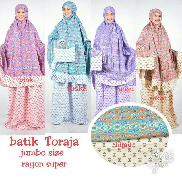 Mukena Dewasa Batik Toraja