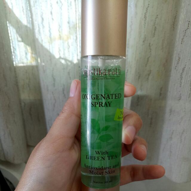 Mustika Ratu Oxigenated Spray Gratis Ongkir Bandung