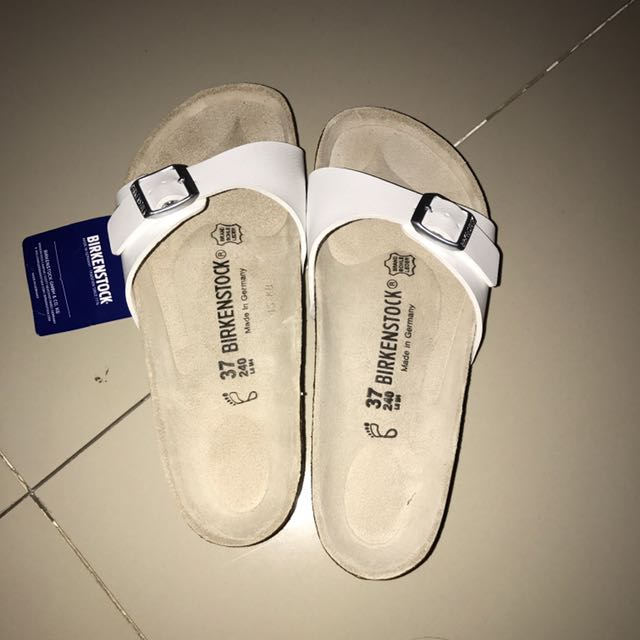 *NEW* Birkenstock Madrid White Women