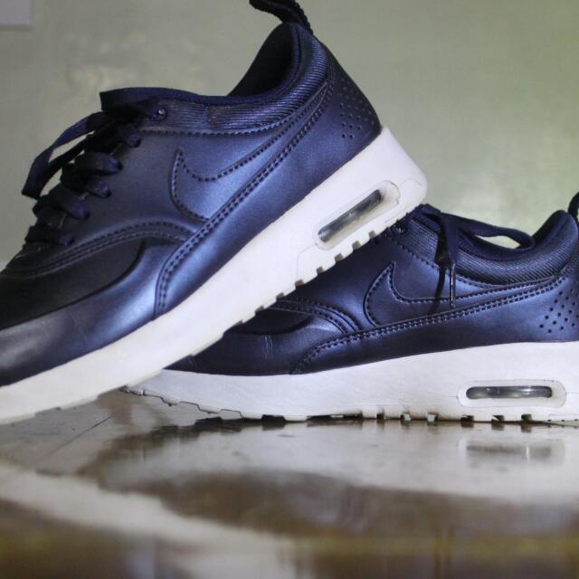 Nike Air Max Thea Metallic Blue 7.5 262aaaf02f54