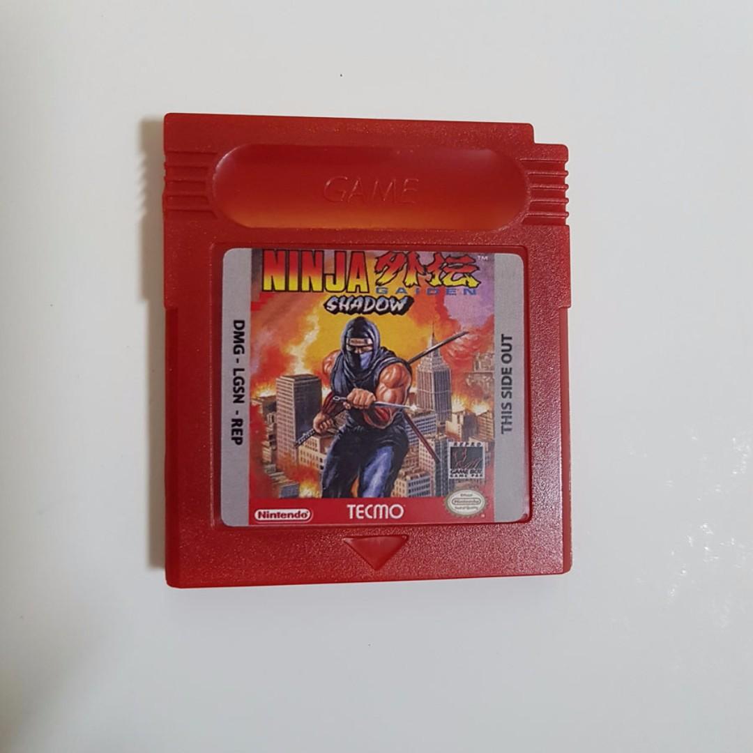 Ninja Gaiden Shadow Game Boy Game