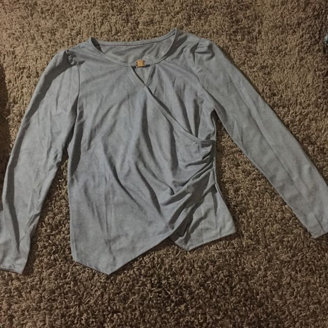 No Brand Grey Shirt