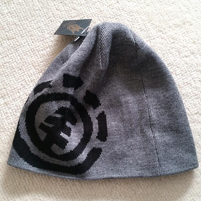 NWT Grey Element Beanie
