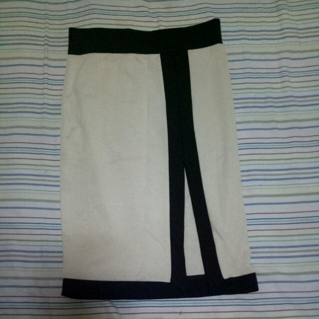 Office Skirt with slit