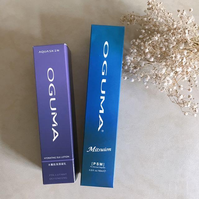 全新產品🎉OGUMA水美媒升級版+水養肌保濕凝乳