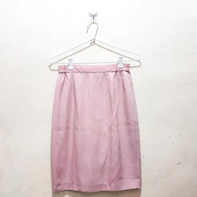 Old Rose Skirt (Semi Casual Attire)