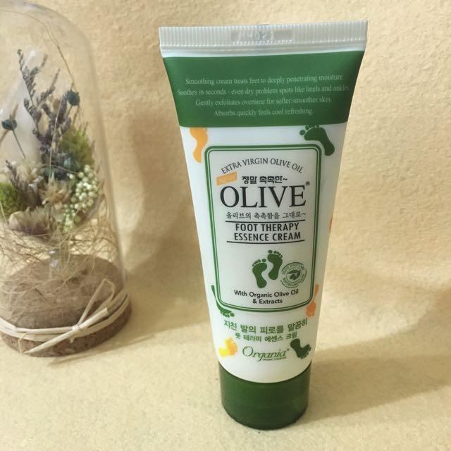 韓國olive橄欖保濕護足霜#美妝五折出清