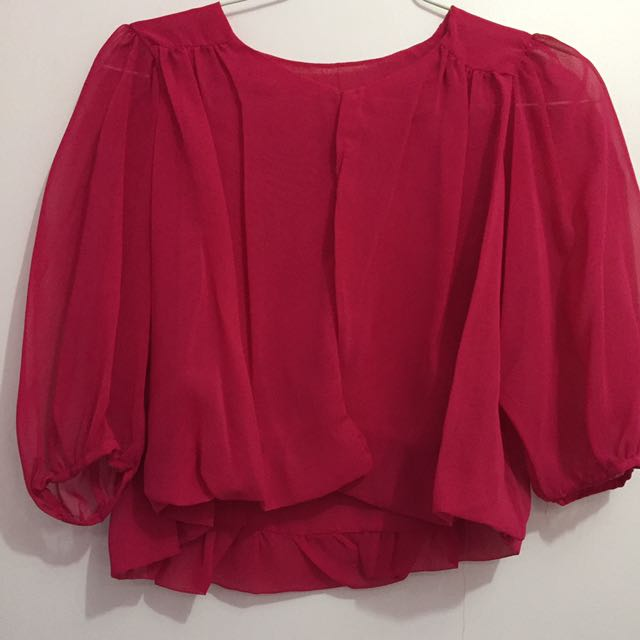 Outerwear Pink Chiffon