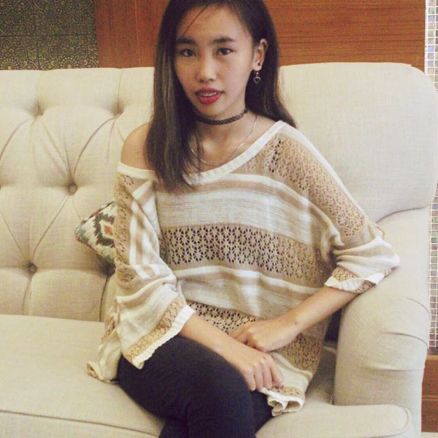 Oversize Knit Top