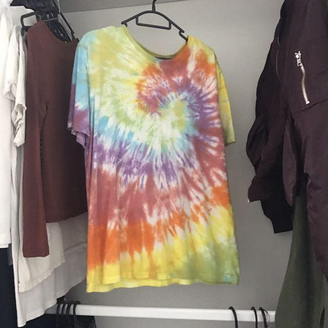 Oversized Tie Dye Shirt