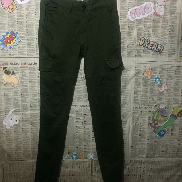 Oxygen Green Jagger / Cargo Pants