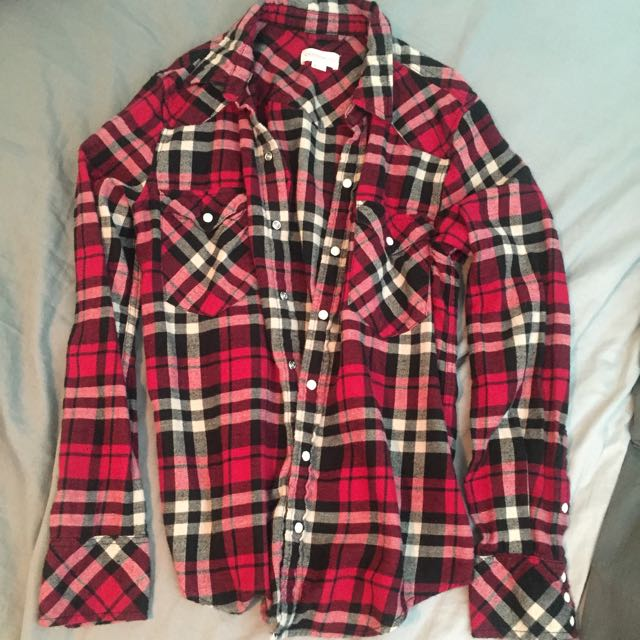 Plaid Shirt / TNA-aritzia