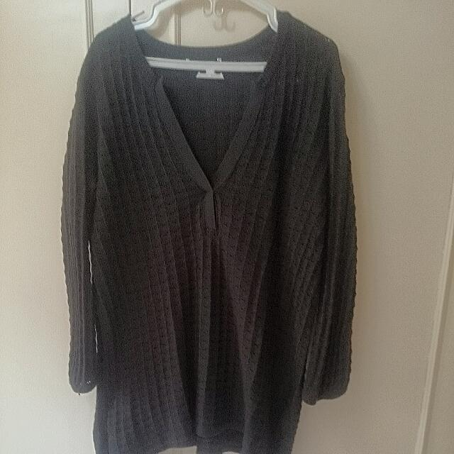 Plus Size: Crocheted Sweater